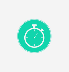 stopwatch icon sign symbol vector image