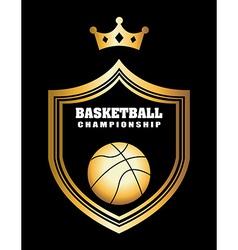 basketball sport vector image