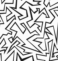 monochrome grunge seamless pattern vector image