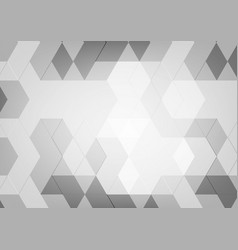 Abstract geometric black and white color with vector