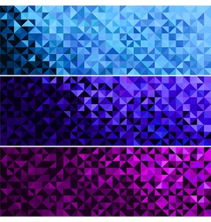 Abstract Sparkle Blue Pink Violet Background vector
