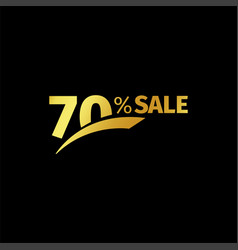 Black banner discount purchase 70 percent sale vector