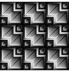 Design seamless zigzag pattern vector image