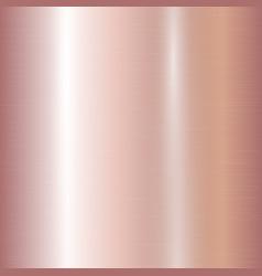 Gradient rose gold vector