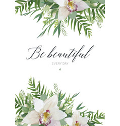 Greeting card postcard poster banner design vector