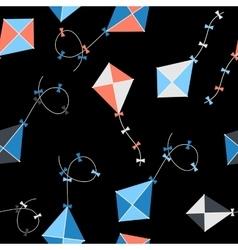 Kite Seamless Pattern Background vector image