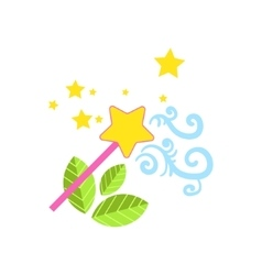 Magic Wand Drawing vector image