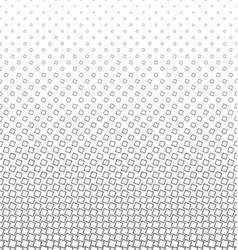 Monochrome geometric angular square pattern vector image
