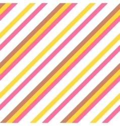 Seamless colorful striped pattern for easter eggs vector