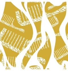 seamless pattern with comb vector image