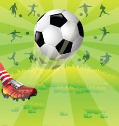 Soccer vector