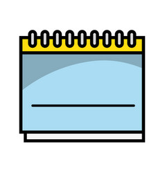 calendar remember important days in the life vector image