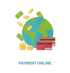 payment online concept vector image
