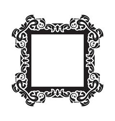 vintage frame one vector image