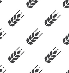 Agriculture seamless pattern vector image