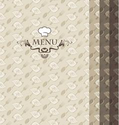four menus vector image