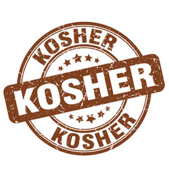 Kosher stamp vector
