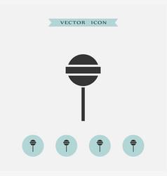 lollipop icon simple vector image