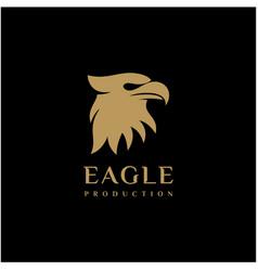 modern and professional eagle head logo design vector image