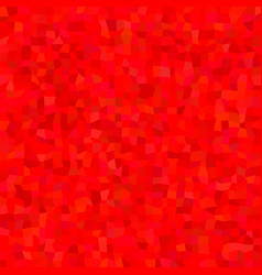Red abstract polygon mosaic pattern background vector