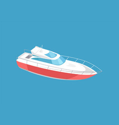 Rescue emergency sailboat coast guard transport vector