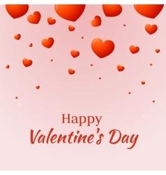 Romantic love background vector image