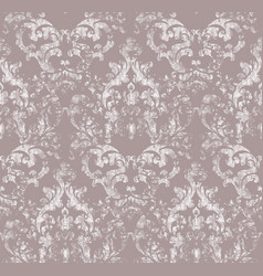 Vintage ornamented pattern old style vector