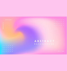 abstract gradient background modern design vector image