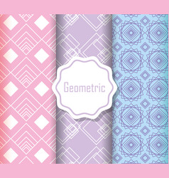 background decorative collection flat design vector image