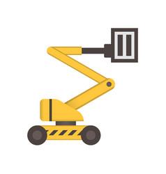 boom lift icon vector image