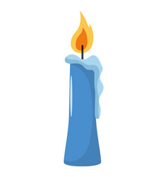 Candle symbol isolated vector