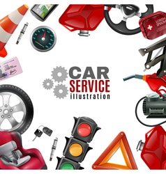 Car Service Template vector