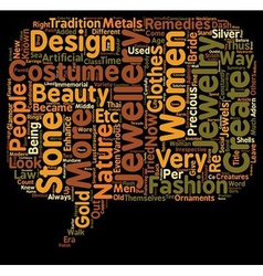 COSTUME JEWELLERY text background wordcloud vector