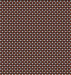 halloween dot pattern vector image