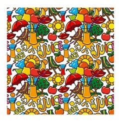 juice pattern vector image