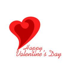 love valentines day design logo icon concept vector image