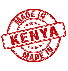 made in kenya vector image