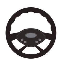 Steering wheel car automobile design vector