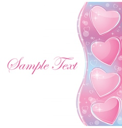 valentines day romantic vector image