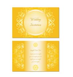 wedding invitation image vector image