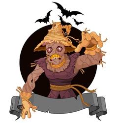 Scarecrow vector image
