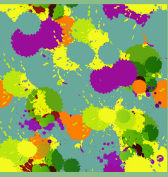 beautiful seamless blot spots pattern vector image vector image