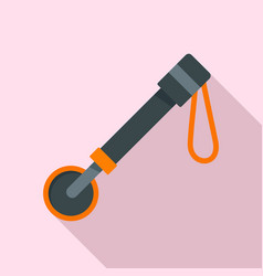 diving tool icon flat style vector image