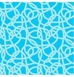Seamless rope loops pattern vector