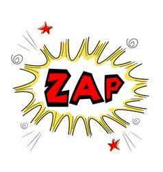 Zap text vector