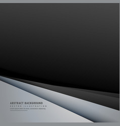 Abstract dark background with minimal lines vector