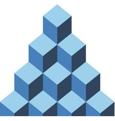 blockchain seamless pattern vector image