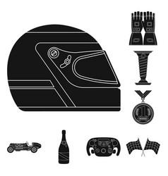 Car and rally logo vector