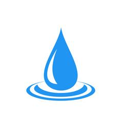 water logo icon concept design vector image