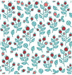 berry seamless vector image vector image